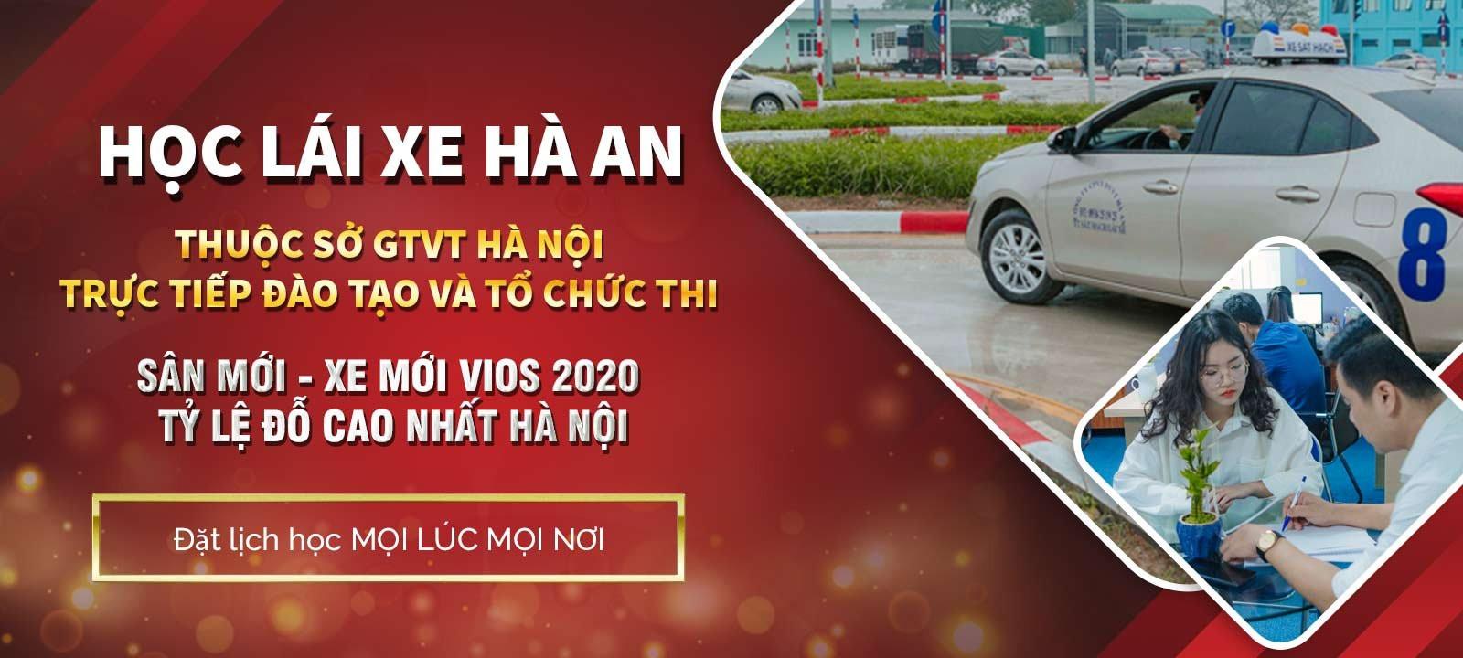 Trung tâm Đào tạo lái xe CGĐB Hà An